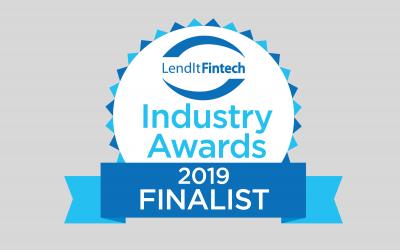 LendIt Fintech Industry Awards Finalist