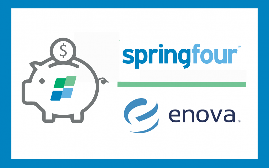 SpringFour Partners with Enova to Help Customers Save and Move Forward